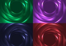 Free vector Swirling abstract background collection #25761