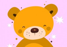 Free vector valentine's day bear #27277