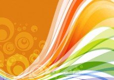 Free vector Vector Abstract Wave Background #23452