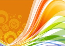 Free vector Vector Abstract Wave Background #23456