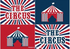 Free vector Circus Labels #23251