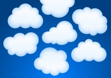 Free vector Vector clouds collection #26021