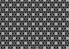 Free vector Geometric Black And White Pattern #26143