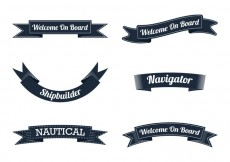Free vector Nautical Ribbon #24297
