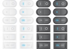Free vector Vector On Off Switches #22438