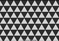 Free vector Stripe Triangles Black And White Pattern #26410