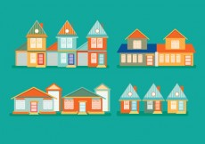 Free vector Vector Townhomes #20875