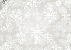 Free vector White snowflakes background #25437