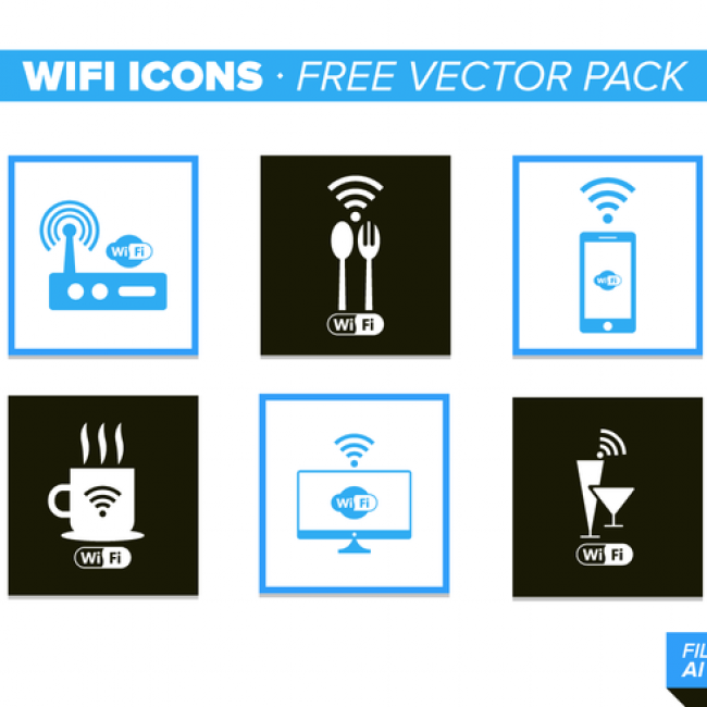 Free vector Wifi Icons Free Vector Pack #26284