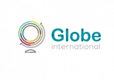 Free vector Abstract logo with globe #31079