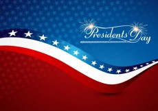 Free vector America Presidents Day Background #32684