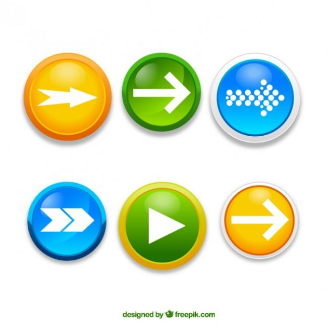 Free vector Arrow buttons #30661