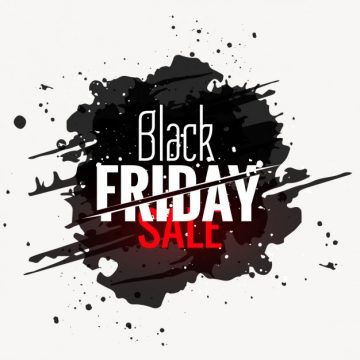 Free vector black friday sale grunge style label #32690
