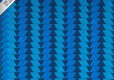 Free vector Blue triangles background in abstract style #28863