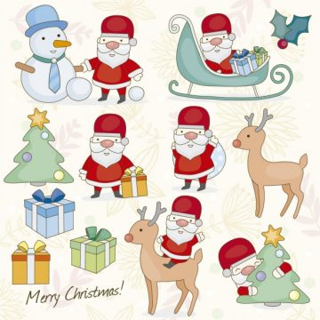 Free vector Christmas illustration #34115