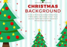 Free vector Christmas treest background #28170