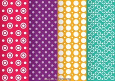 Free vector Circle Line Dot Pattern #31205