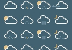 Free vector Cloud icons pack #34181