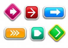Free vector Collection of arrow buttons #30655