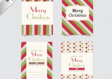 Free vector Collection of christmas cards #28926