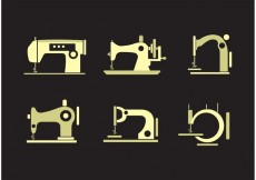 Free vector Collection of Vintage Sewing Machine Vectors #34570