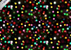 Free vector Colorful bokeh pattern #33858