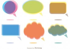 Free vector Colorful Chat Icons Vector Pack #32727