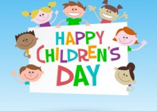 Free vector Colorful children's day illustration #31816