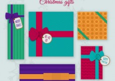 Free vector Colorful Christmas Gifts Collection #31506