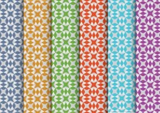 Free vector Colorful Vector Patterns #28620