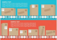 Free vector Conveyor Belt Vector With Boxes #28171