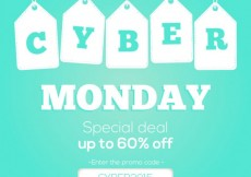 Free vector cyber monday code  #28942