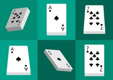 Free vector Deck of Cards Isolated #31055