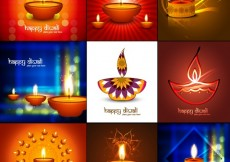 Free vector Diwali Background Collection #32784