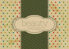 Free vector Dotted background in scrapbook style #32588