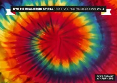 Free vector Dye Tie Spiral Free Vector Background Vol. 4 #28364
