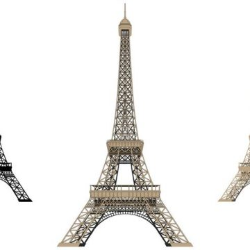 Free vector Eiffel Tower Isolated #34148