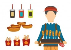 Free vector Fast Food Products #33897