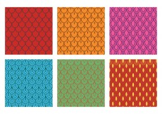 Free vector Fish Scale Pattern Vector #31718