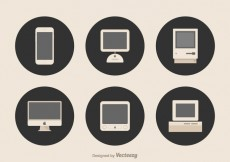Free vector Free Apple Devices Vector #29162