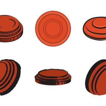 Free vector Free Clay Pigeon Vector Illustration #31805