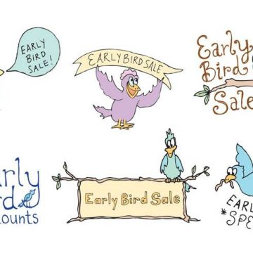 Free vector Free Early Bird Vector Series #31374