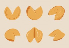 Free vector Free Fortune Cookie Vector Illustration #31680
