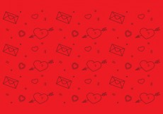 Free vector Free Heart Vector Pattern #1 #29737