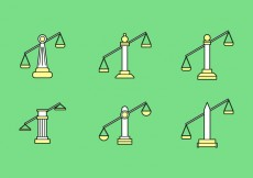 Free vector Free Law Office Vector Icons #4 #30926