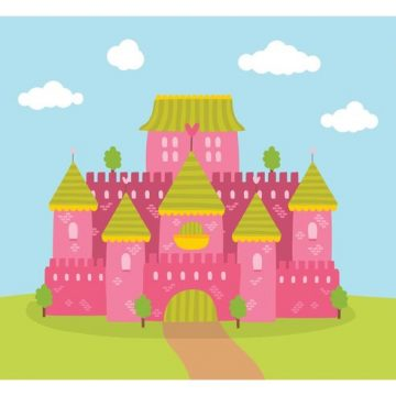 Free vector Free Princess Castle Vector #34526