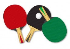 Free vector Free Rackets For Table Tennis Vector #31579