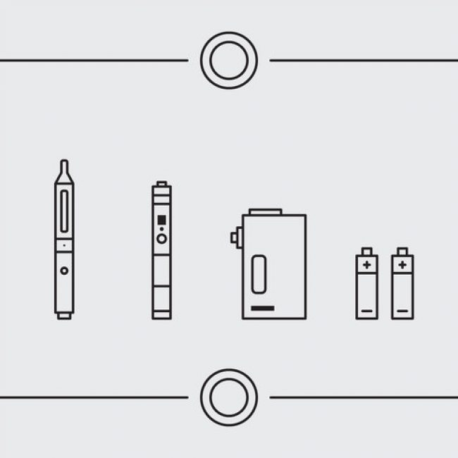 Free vector Free Vape Vector Icons #1 #30818