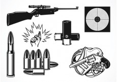 Free vector Free Vector Shooting Set #30235