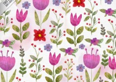 Free vector Hand painted nice flowers background #29744